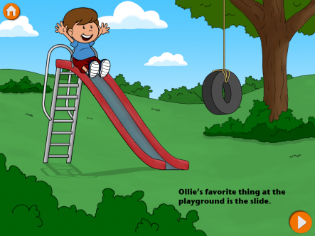 Ollie Goes to the Park - ipad2