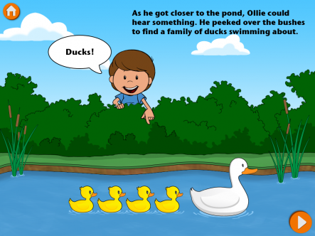 Ollie Goes to the Park - ipad