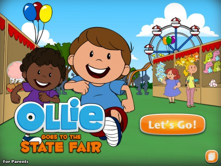 Ollie Goes to the State Fair - ipad